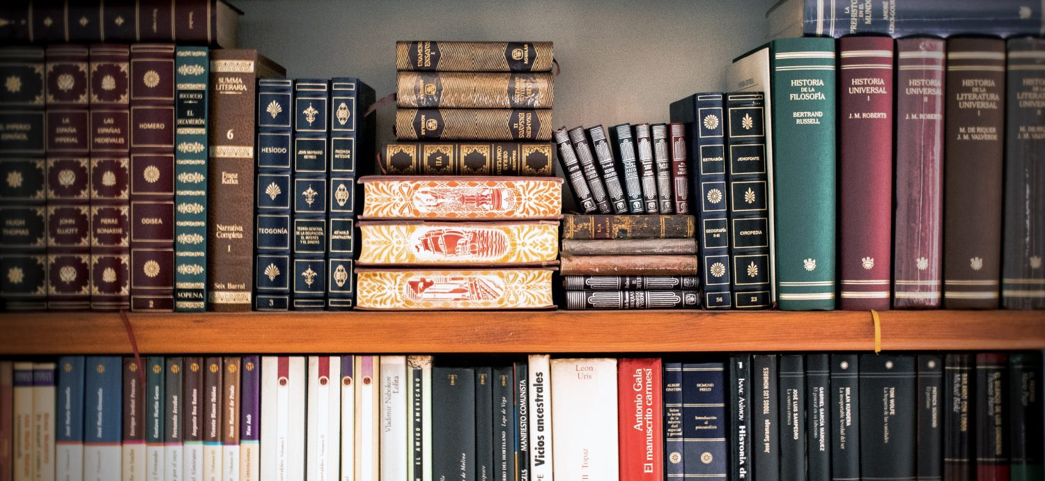 book-shelves-book-stack-bookcase-207662 banner wide